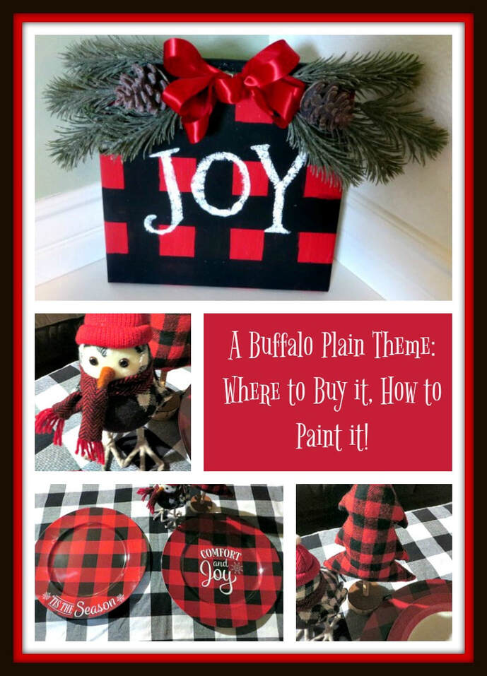 Buffalo Plaid Theme Where To Buy It How To Paint It 3 Winks Design
