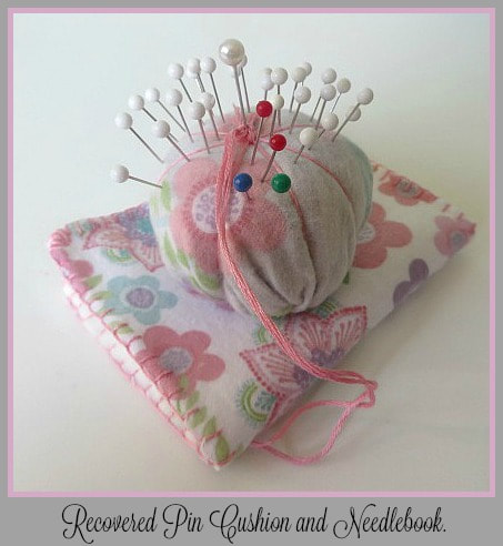 Pin Cushion and Needlebook Set on Handmade Monthly by 3 Winks Design
